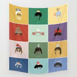 Miyazaki's world. Wall Tapestry