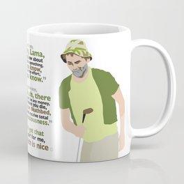 Carl Spackler and the Lama Coffee Mug