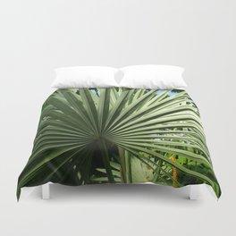 Fan Palm Duvet Cover