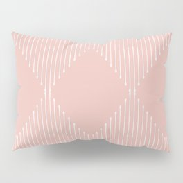 Geo / Blush Pillow Sham