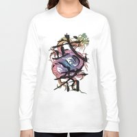 dragon Long Sleeve T-shirts featuring Dragon by Spooky Dooky