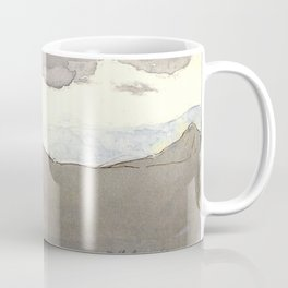 Mahadeo Mountains with Clouds  Coffee Mug