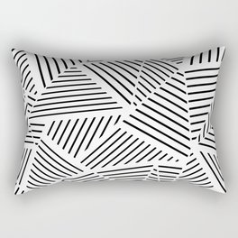Ab Linear Zoom W Rectangular Pillow