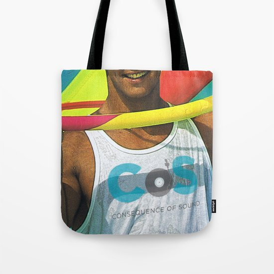 """Summer Albums"" by Cap Blackard Tote Bag"