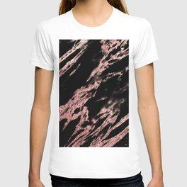 Darkness rose gold T-shirt