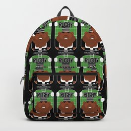 Rugby Black - Ruck Scrumpacker - Hayes version Backpack