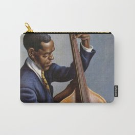 Classical Masterpiece 'Portrait of a Musician' by Thomas Hart Benton Carry-All Pouch