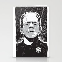 frankenstein Stationery Cards featuring Frankenstein by Matt Fontaine