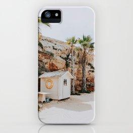 summer beach vii / mallorca, spain iPhone Case