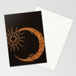 gold-m o o n Stationery Cards