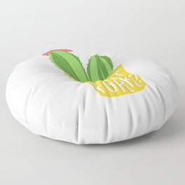 what the fork? cactus (The Good Place) Floor Pillow