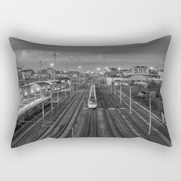 Turin's railway Rectangular Pillow