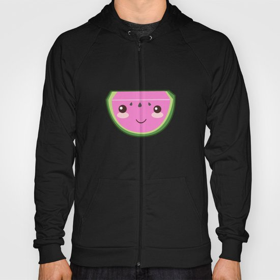 Kawaii Watermelon Hoody