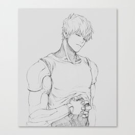 GENOS (One-Punch Man) Canvas Print