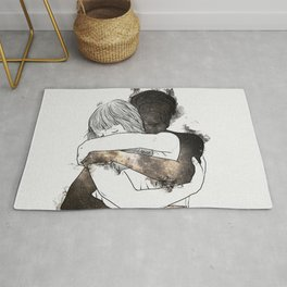 I would keep you forever (GOLD). Rug