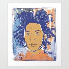 Basquiat! Art Print