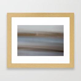 Movement in Nature III Framed Art Print