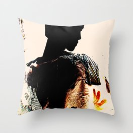 Vintage: The Mohican Throw Pillow