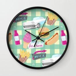 Drive in Wall Clock