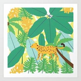 Jungle Love Art Print