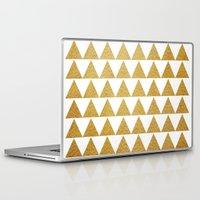 golden Laptop & iPad Skins featuring Golden by Sandra Arduini