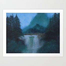 painting with bob Art Print