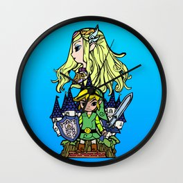 Hero of Time Wall Clock