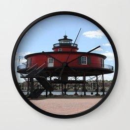 Seven Foot Knoll Lighthouse Wall Clock