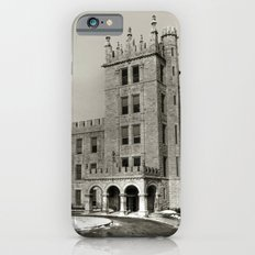 Northern Illinois University Castle - Black and White iPhone 6 Slim Case
