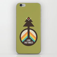 For the Love of the Forest iPhone & iPod Skin