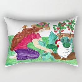 Luci an Susie - Homegrown Heaven Rectangular Pillow