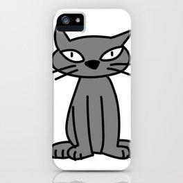 kitten one iPhone Case