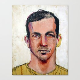 1963 Kille John F. Kennedy (Lee Harvey Oswald) Canvas Print