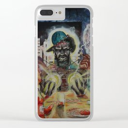 """""""Hip-Hop Last Supper"""" Clear iPhone Case"""