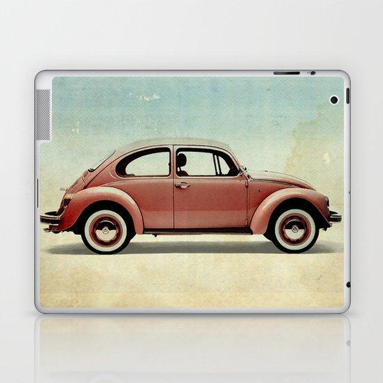 red vintage car Laptop & iPad Skin