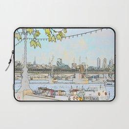 London River Scene Laptop Sleeve