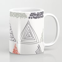 triangle Mugs featuring Triangle by samedia