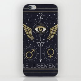Le Jugement or The Judgement Tarot iPhone Skin