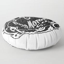 Old car company logo Floor Pillow