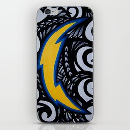 POLY SanDiego CHARGERS iPhone Skin