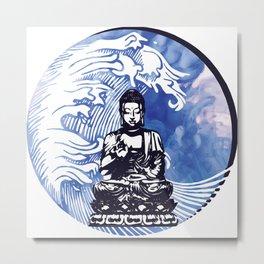 Deepwater Buddha Metal Print
