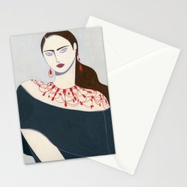 She Moves Stationery Cards