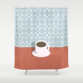 Classic Joe Shower Curtain