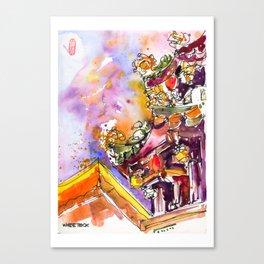 20170305 Taoist Mission 1 Canvas Print