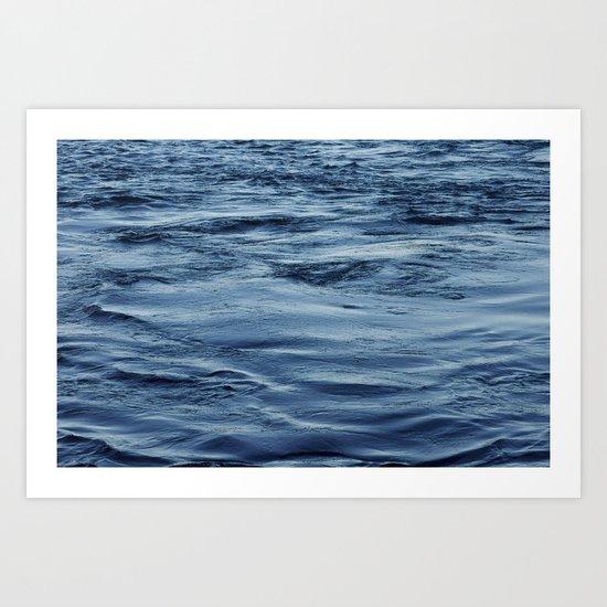 Lake Michigan - Chicago, IL Art Print