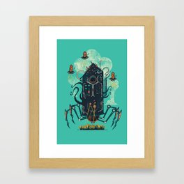 Not with a whimper but with a bang Framed Art Print
