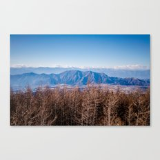 View from Mt Fuji Canvas Print