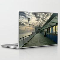 theatre Laptop & iPad Skins featuring Pier Theatre, Bournemouth by Roboz