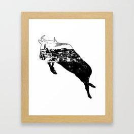 Matera - Sassi inOx Framed Art Print