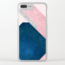 Modern Mountain No2-P1 Clear iPhone Case
